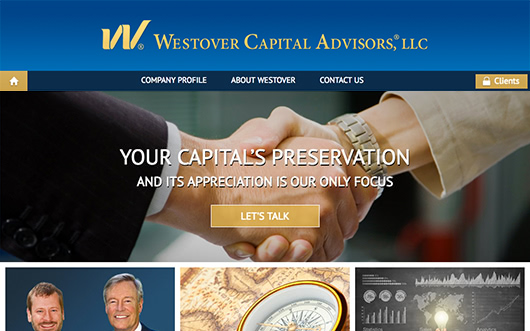 Westover Capital Advisors website screenshot