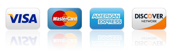 Accepting Visa, MasterCard, American Express, and Discover Cards