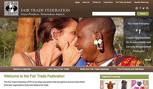 Fair Trade Federation - Trade partnerships creating opportunities to alleviate poverty. Website designed and developed by Digital Eye LLC